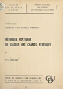 Méthodes pratiques de calculs des champs statiques