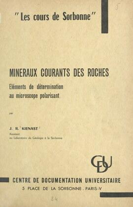 Minéraux courants des roches