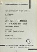 Zoologie systématique et biologie générale (avec exercices pratiques)