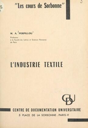 L'industrie textile