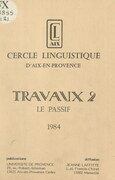 Travaux (2). Le passif