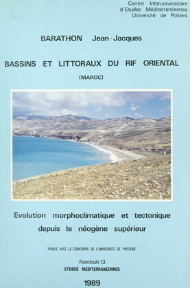 Bassins et littoraux du Rif oriental (Maroc)