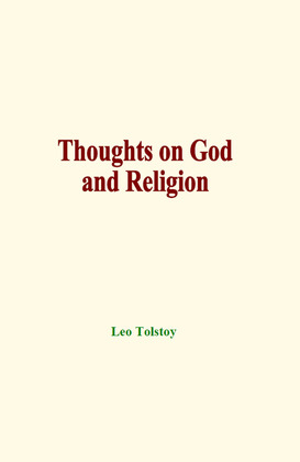 Thoughts on God and Religion