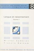 Langue et raisonnement (1)