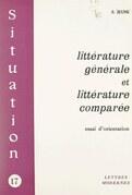 Littérature générale et littérature comparée