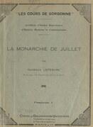 La Monarchie de Juillet (1)