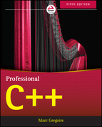 Professional C++