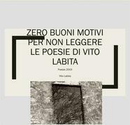 Zero buoni motivi per non leggere le poesie di Vito Labita