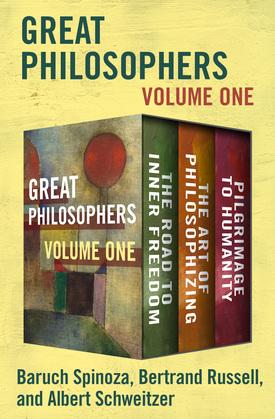 Great Philosophers Volume One