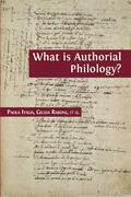 What is Authorial Philology?