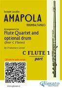 Amapola - Flute Quartet (score & parts)