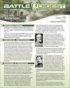 Battle Digest: Antietam