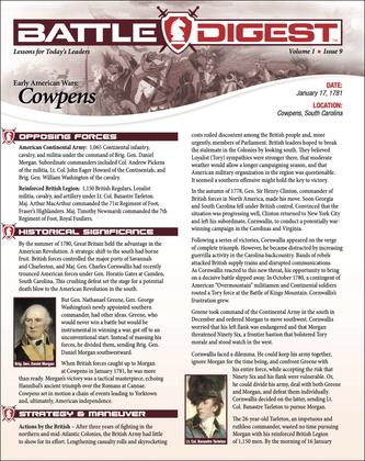 Battle Digest: Cowpens
