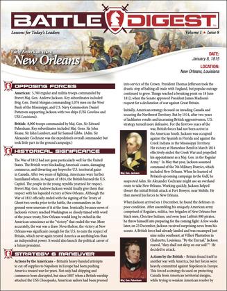Battle Digest: New Orleans