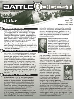 Battle Digest: D-Day