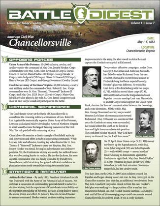 Battle Digest: Chancellorsville