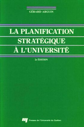 La planification stratégique à l'université