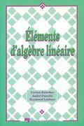 Éléments d'algèbre linéraire