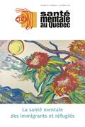 Santé mentale au Québec. Vol. 45 No. 2, Automne 2020