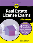 Real Estate License Exams For Dummies with Online Practice Tests