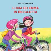 Lucia ed Emma in bicicletta