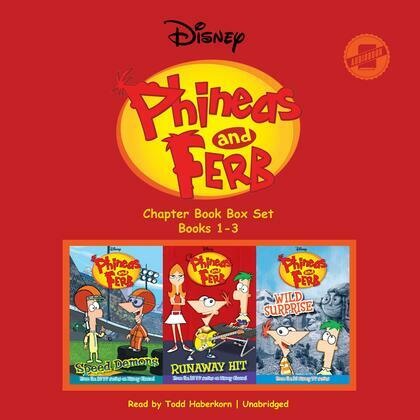 Phineas and Ferb Chapter Book Box Set (Books 1–3)