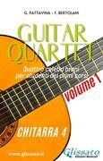 Guitar Quartet vol.1 - Chitarra 4