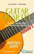 Guitar Quartet vol.2 - partitura