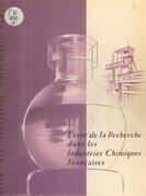 Essor de la recherche dans les industries chimiques françaises