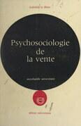Psychosociologie de la vente
