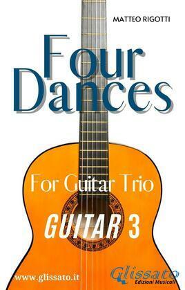 Four Dances - Guitar 3