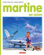 Martine en avion