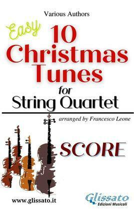 10 Christmas Tunes for String Quartet (score)