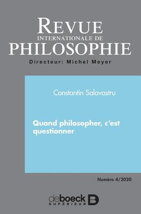 Revue internationale de philosophie