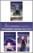 Harlequin Love Inspired Suspense November  2020 - Box Set 2 of 2