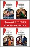 Harlequin Presents - April 2021 - Box Set 2 of 2