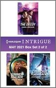 Harlequin Intrigue May 2021 - Box Set 2 of 2