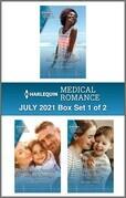 Harlequin Medical Romance July 2021 - Box Set 1 of 2