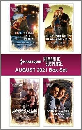 Harlequin Romantic Suspense August 2021 Box Set