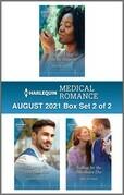 Harlequin Medical Romance August 2021 - Box Set 2 of 2
