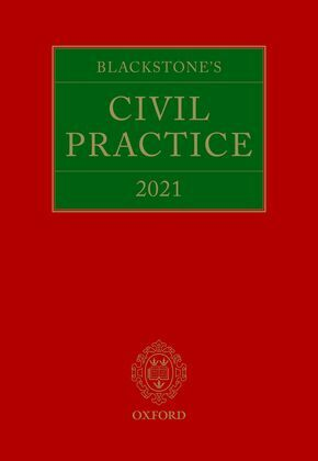 Blackstone's Civil Practice 2021