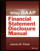 Wiley GAAP: Financial Statement Disclosure Manual