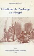 L'abolition de l'esclavage au Sénégal