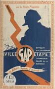Sur la route Napoléon, Gap, ville-étape