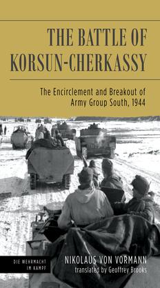 The Battle of Korsun-Cherkassy