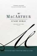 The ESV, MacArthur Study Bible, 2nd Edition, eBook