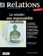 Relations. No. 771, Mars-Avril 2014