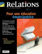 Relations. No. 774, Septembre-Octobre 2014