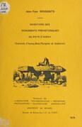 Inventaire des monuments préhistoriques du Pays d'Auray