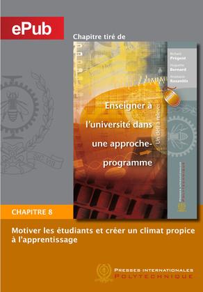 Motiver les étudiants et créer un climat propice à l'apprentissage (Chapitre)